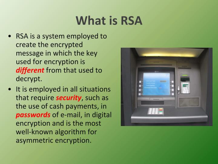 What is RSA