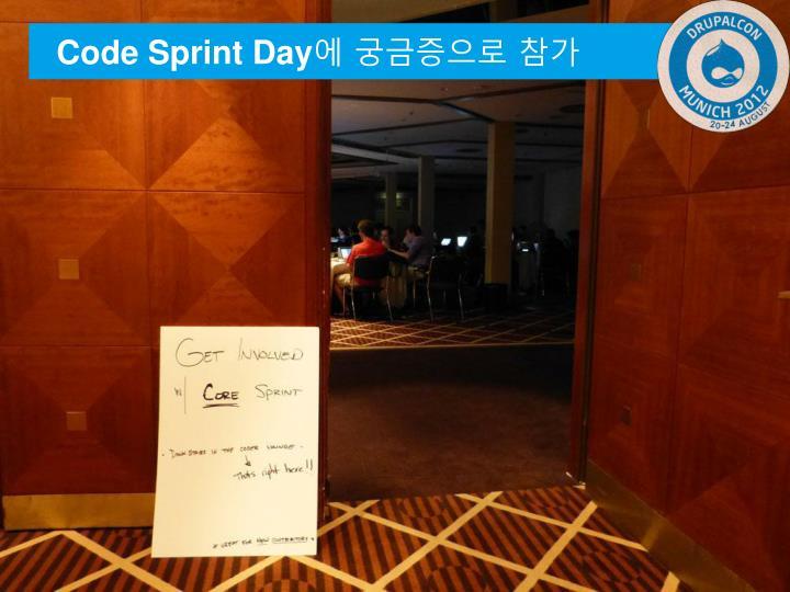 Code Sprint Day