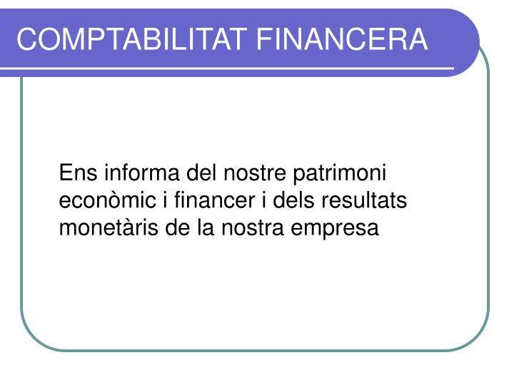 COMPTABILITAT FINANCERA