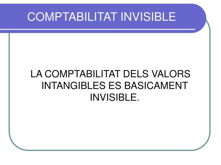 COMPTABILITAT INVISIBLE