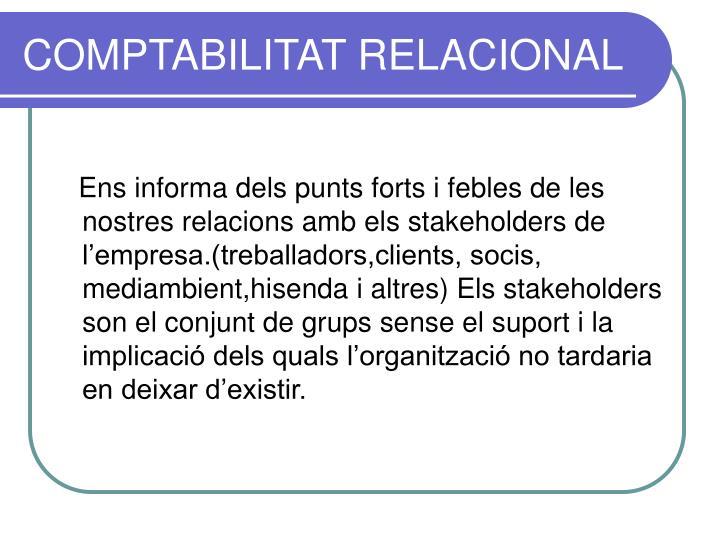 COMPTABILITAT RELACIONAL