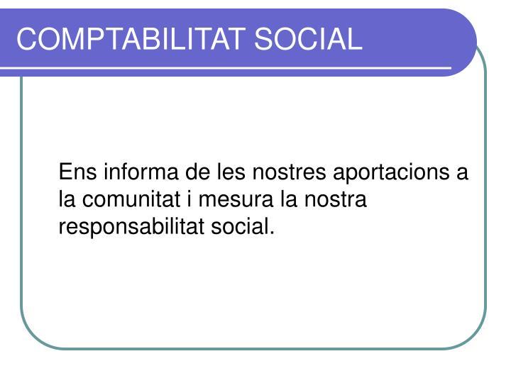 COMPTABILITAT SOCIAL