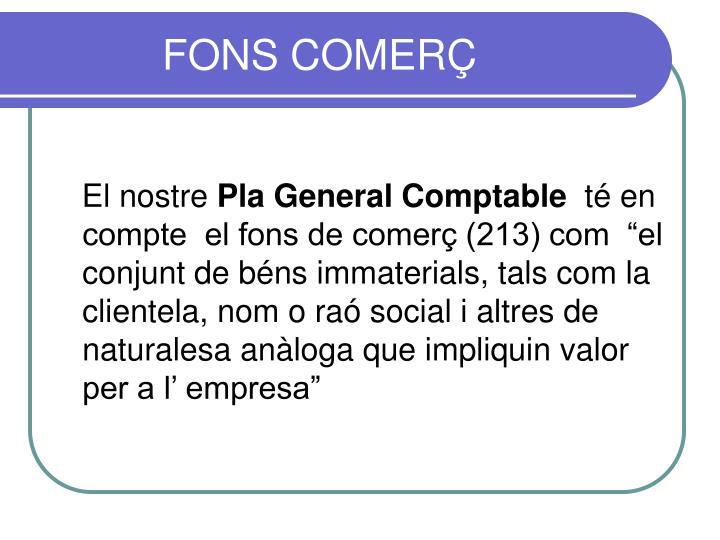 FONS COMERÇ