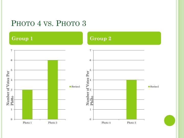 Photo 4 vs. Photo 3