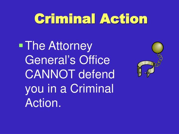 Criminal Action