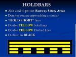holdbars