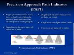 precision approach path indicator papi