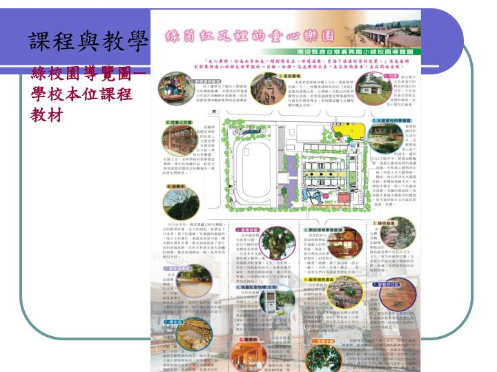 綠校園導覽圖