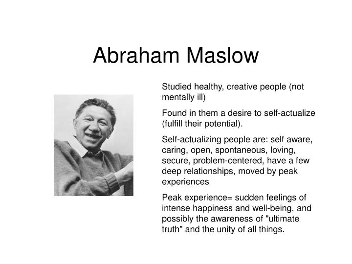 Studied healthy, creative people (not mentally ill)