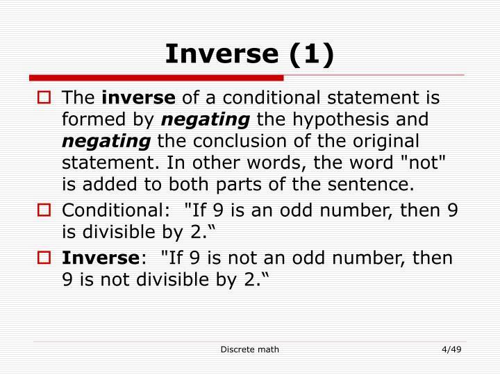 Inverse (1)