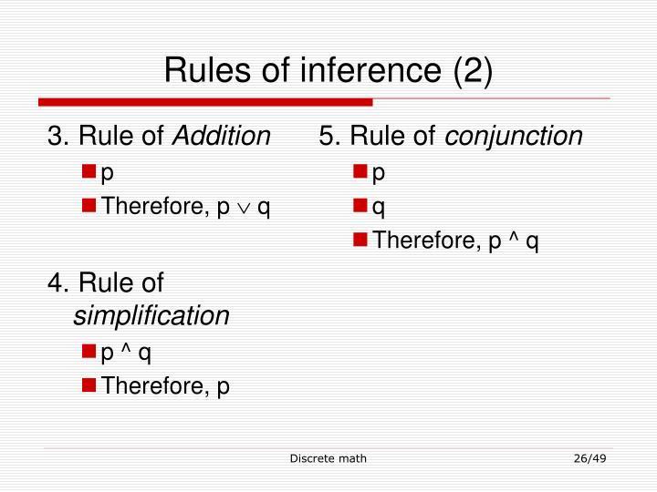 3. Rule of