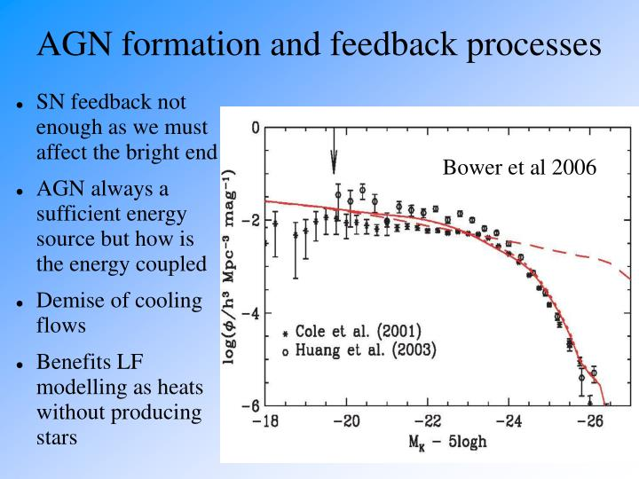 AGN formation and feedback processes