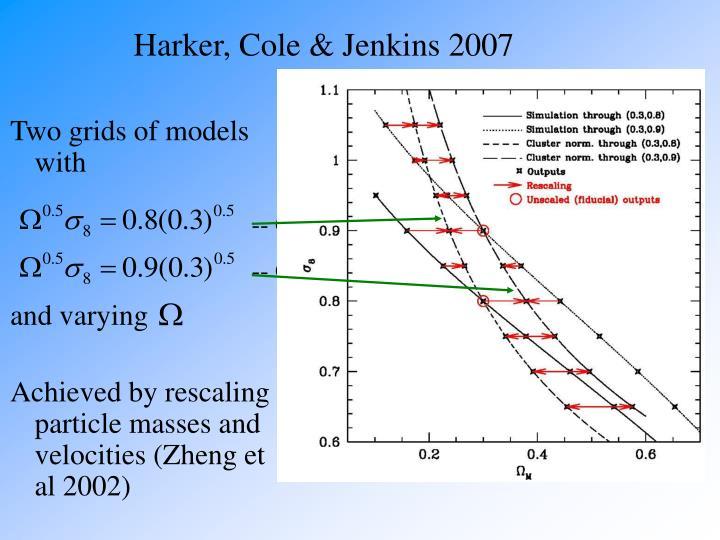 Harker, Cole & Jenkins 2007