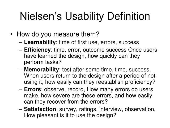 Nielsen's
