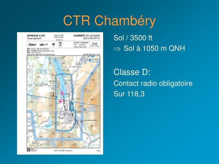 CTR Chambéry