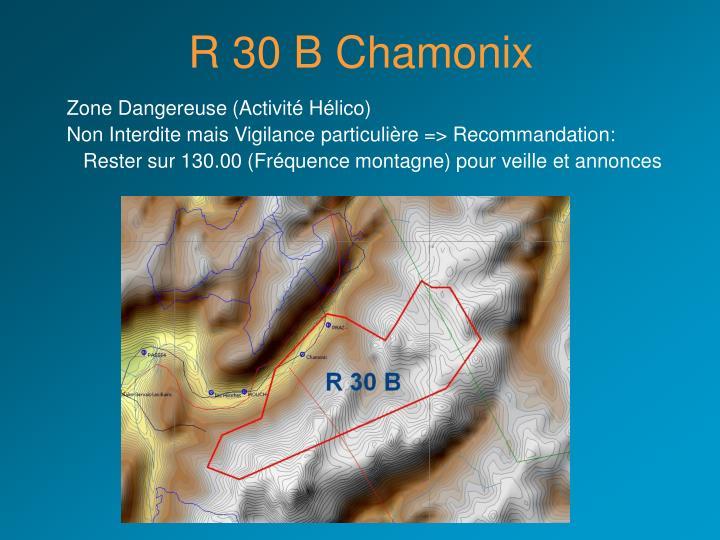 R 30 B Chamonix