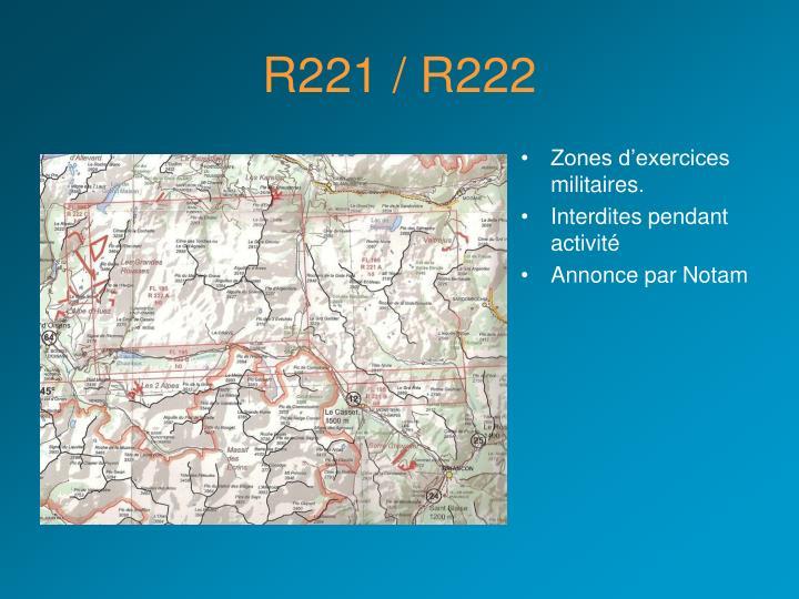 R221 / R222