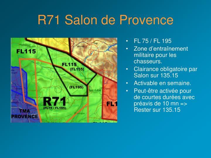 R71 Salon de Provence