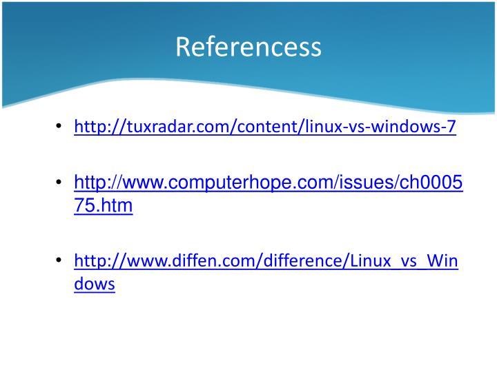 Referencess