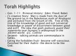 torah highlights