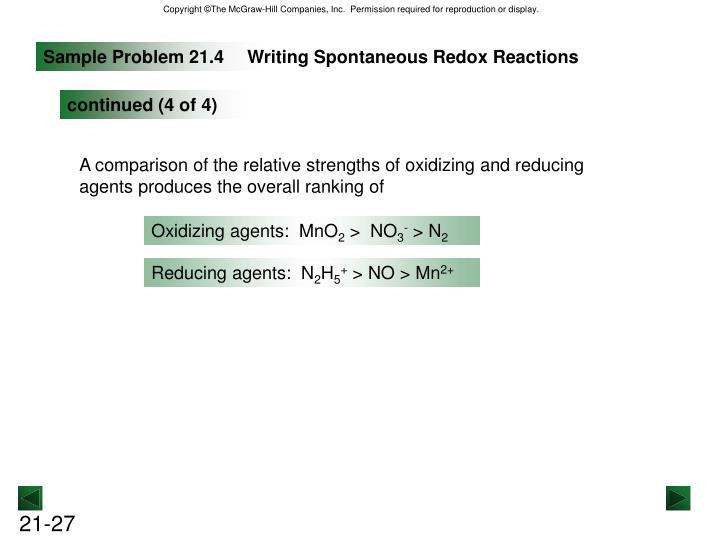Sample Problem 21.4