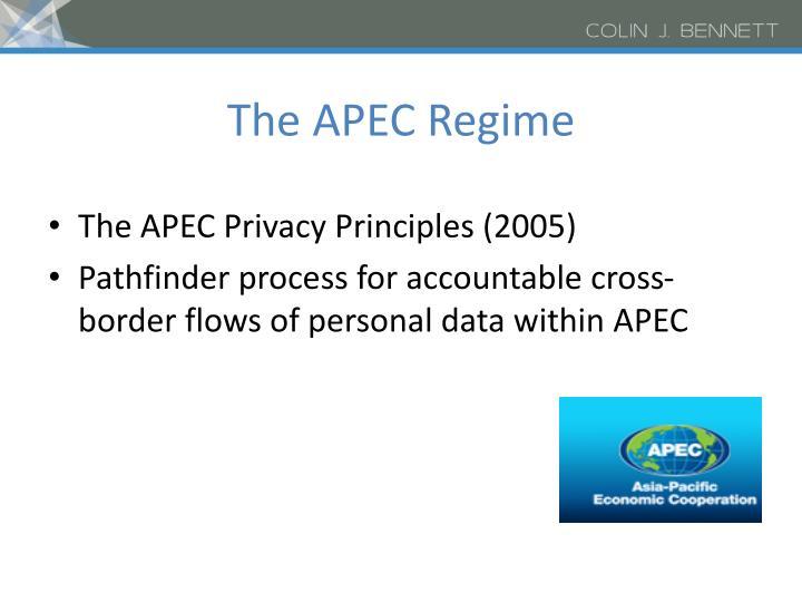 The APEC Regime