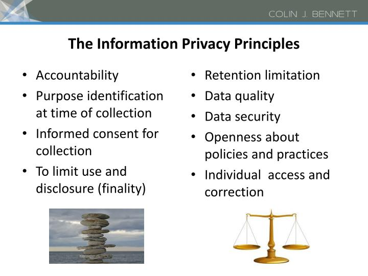 The Information Privacy Principles