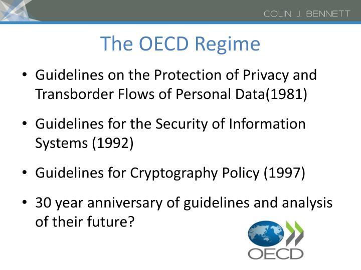 The OECD Regime