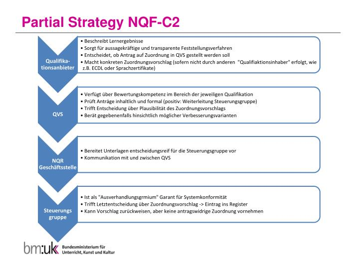 Partial Strategy NQF-C2