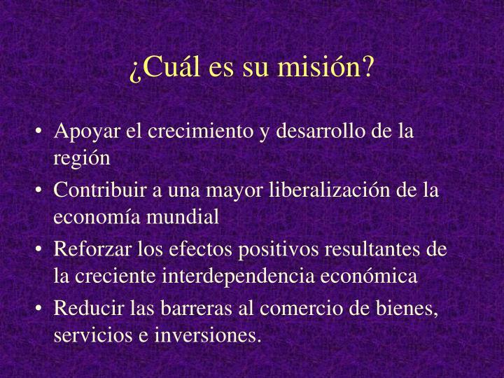 ¿Cuál es su misión?