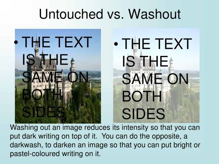 THE TEXT IS THE SAME ON BOTH SIDES