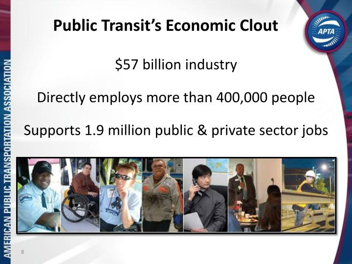 Public Transit's Economic Clout
