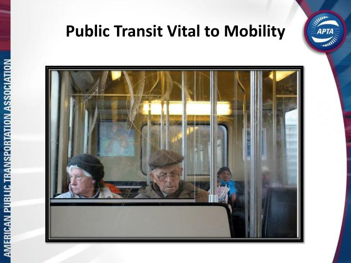 Public Transit Vital to Mobility