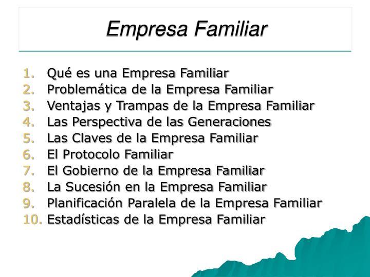 Empresa Familiar