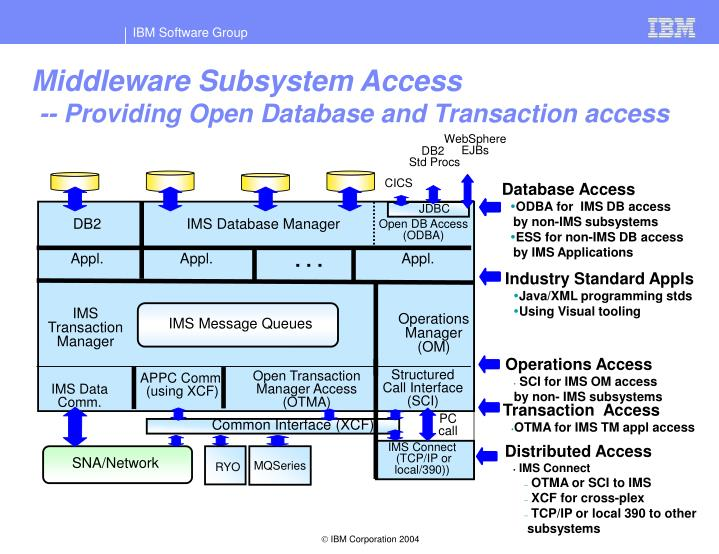 Middleware Subsystem Access