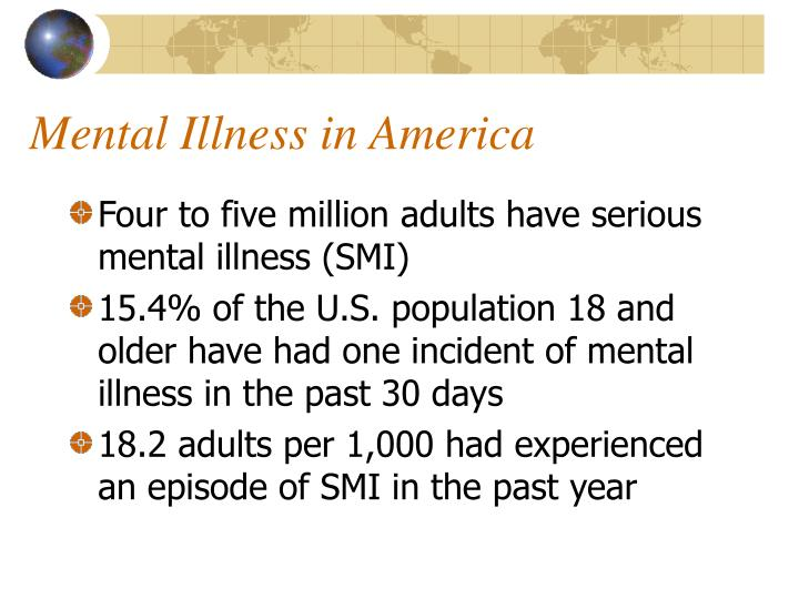 Mental Illness in America