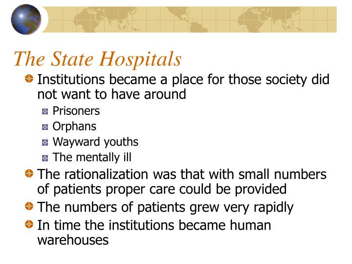 The State Hospitals