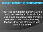 luther leads the reformation5