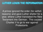 luther leads the reformation6
