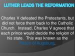 luther leads the reformation7
