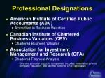 professional designations1
