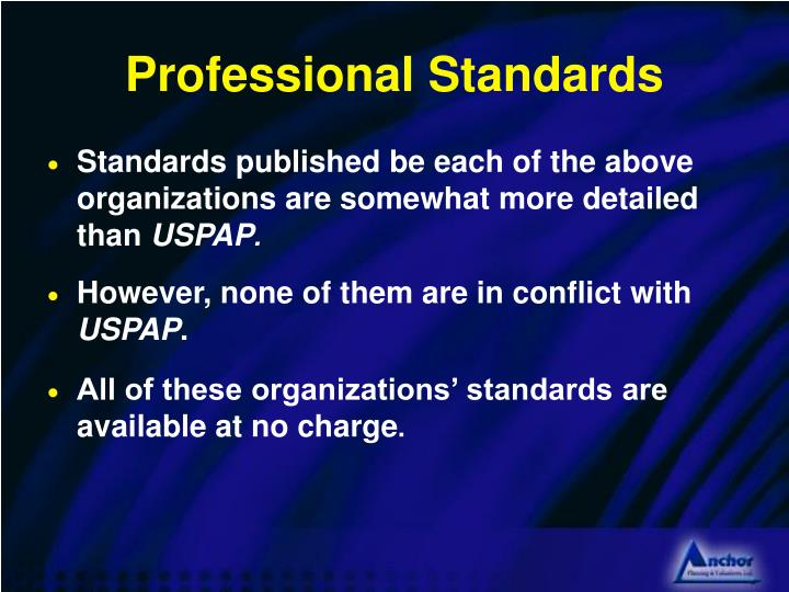 Professional Standards