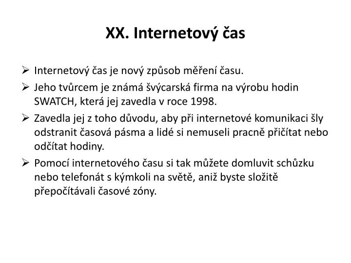 Xx internetov as