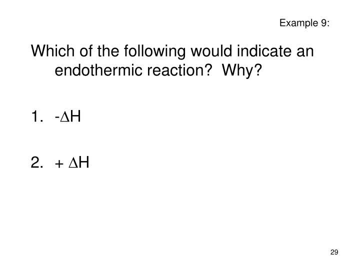 Example 9: