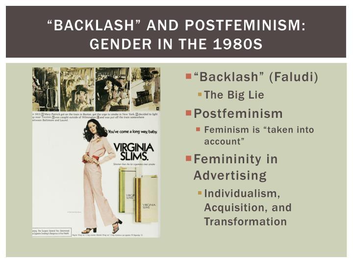 """""""Backlash"""" and"""