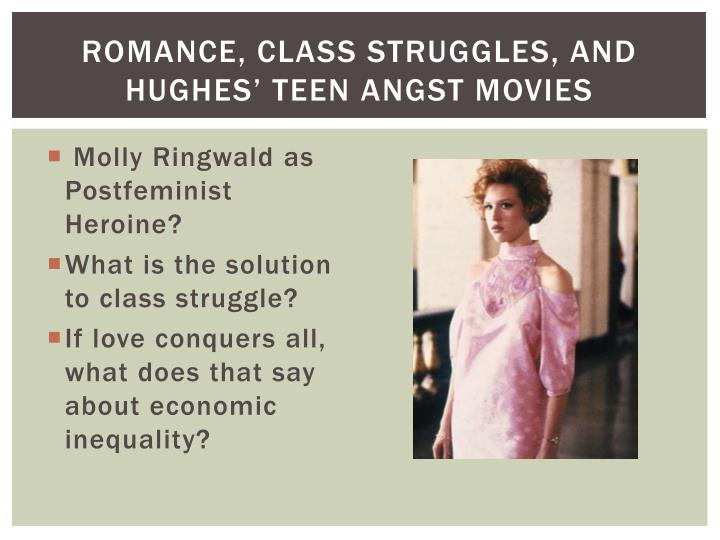 Romance, Class Struggles, and Hughes' Teen Angst Movies
