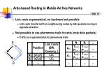 ants based routing in mobile ad hoc networks1