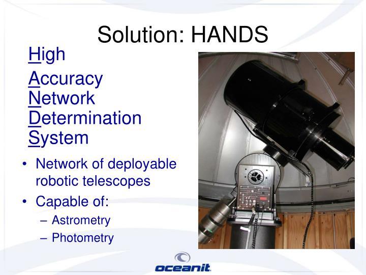 Solution: HANDS
