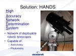 solution hands