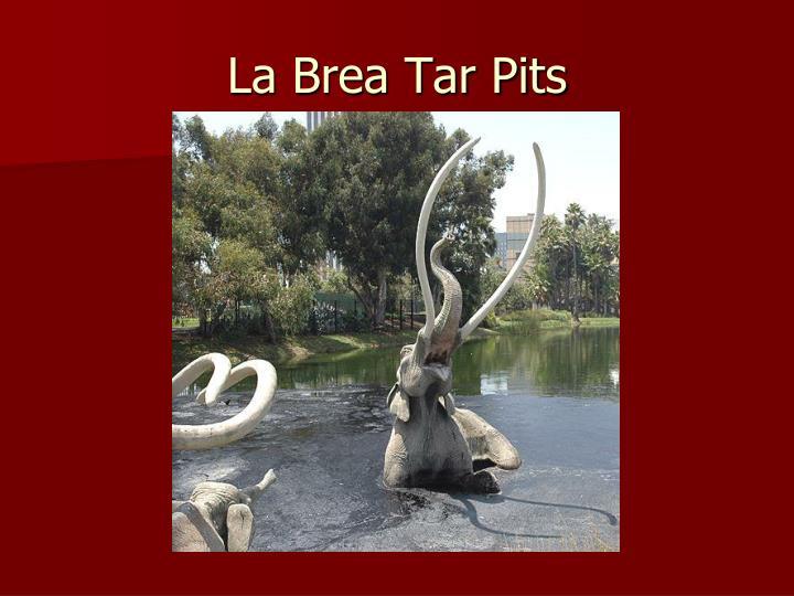 La Brea Tar Pits
